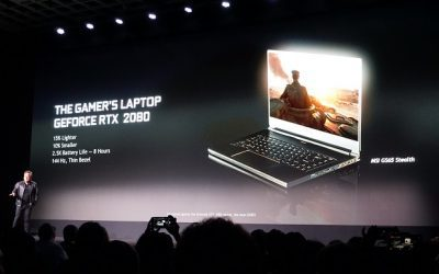 Nvidia RTX arrive on video gaming laptops