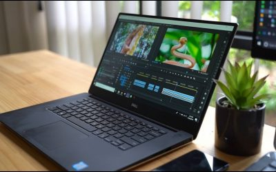 DELL XPS 15 (2019) | The BEST Laptop for YOUTUBERS | Samsung T5 SSD | MAC vs PC #dellXPS #SamsungT5