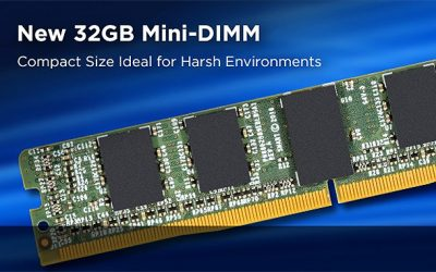 SMART Modular Reveals 32 GB DDR4-3200 Low Profile Mini-DIMMs for Extreme Environments