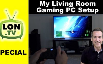 My Living Room Gaming PC Setup – Using my Gaming PC as a Desktop & TV Game Console!