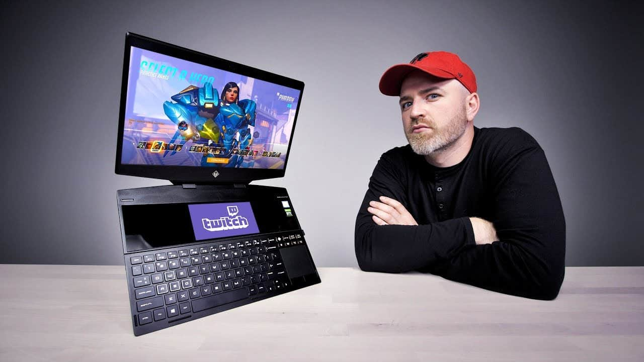 The World's First Dual-Screen Gaming Laptop