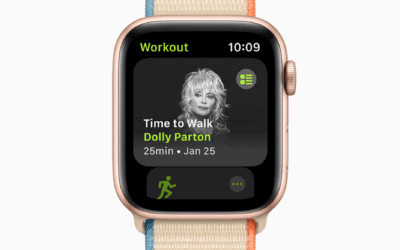 It's Time to Walk with Dolly Parton in new Fitness Plus audio series for Apple Watch