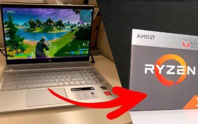 Laptop Gamer con ryzen – HP PAVILION 15-CW0007LA