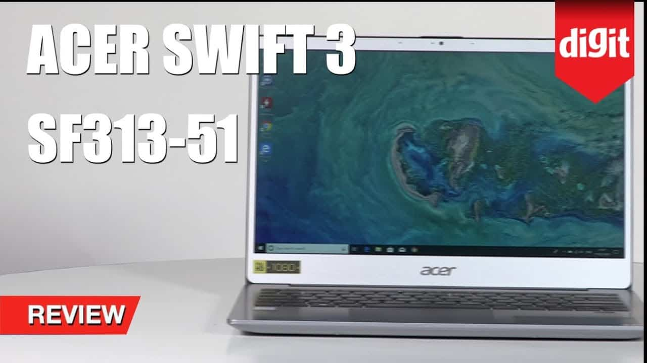 Tested! Acer Swift 3 2019 Thin and Light Laptop Review (SF313-51) | Intel i5 8th Gen | 4G LTE