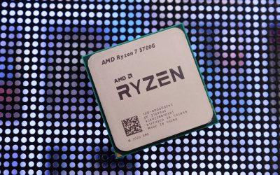 AMD Ryzen 7 5700G APU Review: Radeon GPU Inside