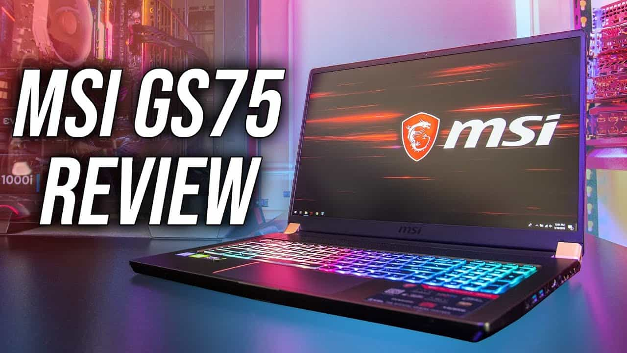 MSI GS75 Gaming Laptop Review - Thin and Powerful?